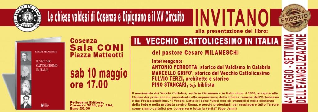 INVITO Vecchio Cattolicesimo
